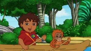 O resgate do orangotango, 1 h e 40 min