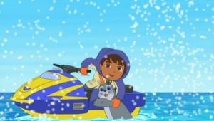 Diego resgata a foquinha, 1 h e 40 min