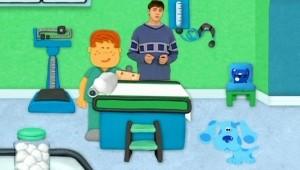 A Blue vai ao médico, 1 h e 40 min