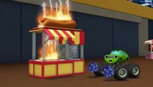 Alerta de incêndio, Blaze, 1 h e 40 min